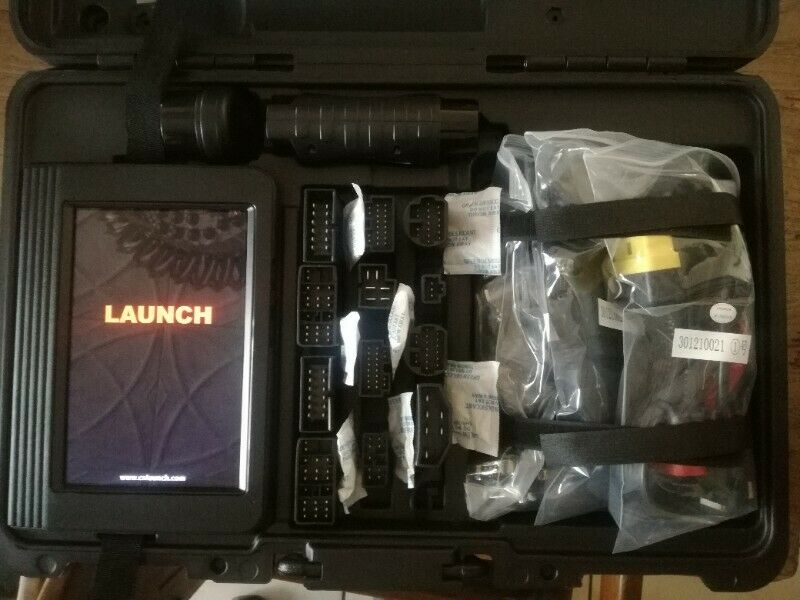 LAUNCH X431 V8″ FULL SYSTEM DIAGNOSTIC TOOL 8 INCH TABLET AND 2 YEARS FREE UPDATES