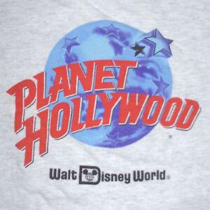 Vtg planet hollywood logo t shirt xl walt disney world for Planet hollywood t shirt