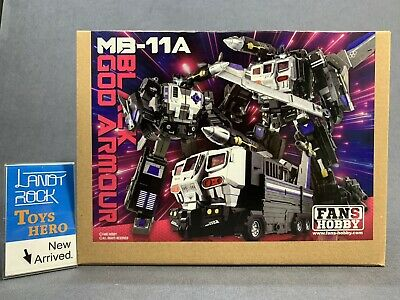 Toys Hero In Hand Transformers FansHobby MB-08 Double Evil Overlord MB08