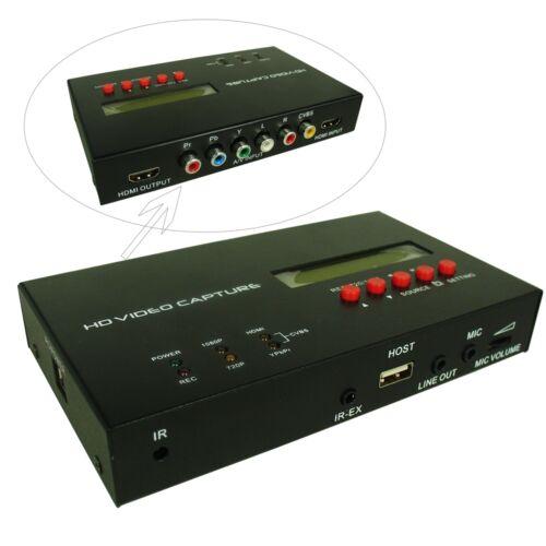 EZCAP283S HD Video Capture 1080P AV//HDMI//Ypbpr Recording for HD Camera TV Game