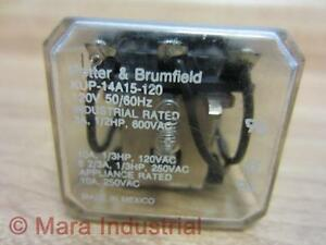 Potter & Brumfield KUP-14A15-120V Relay KUP14A15120
