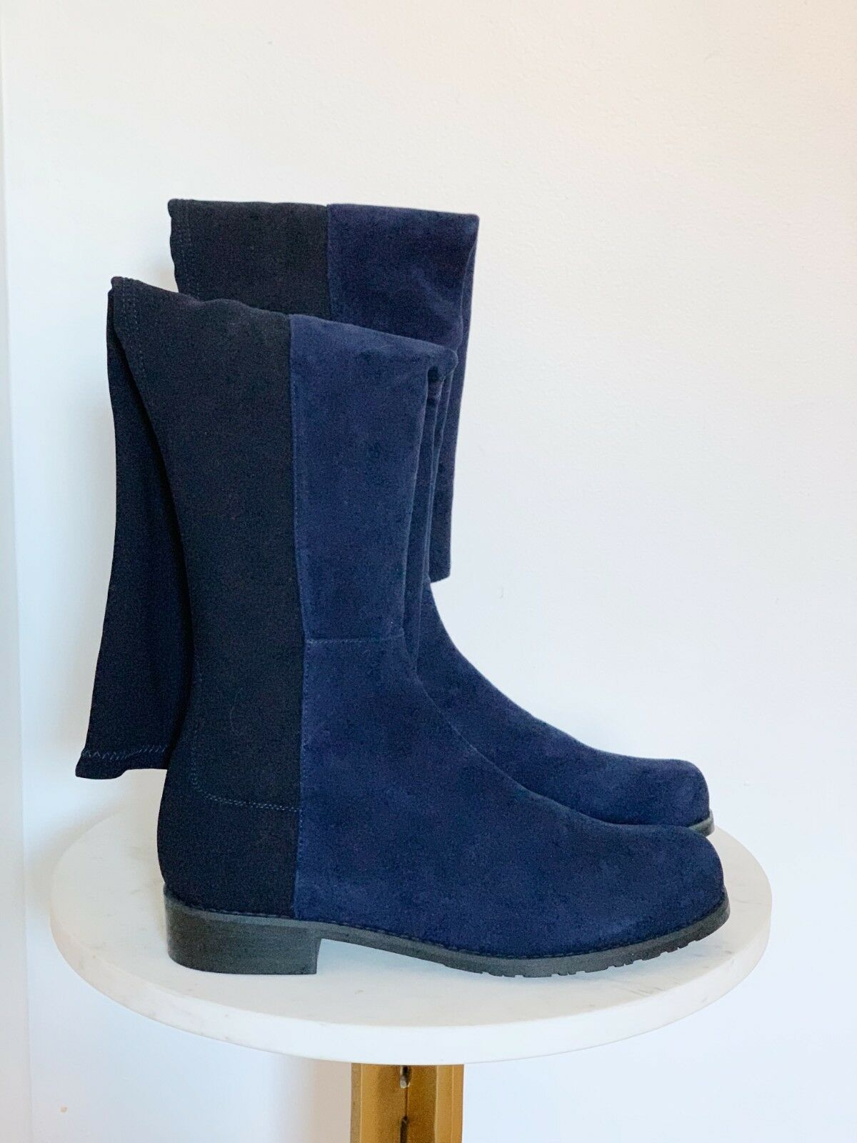 NIB Stuart Weitzman Weitzman Weitzman Suede 5050 Over The Knee Boot sz US 6.5 MSRP  655 2a2633