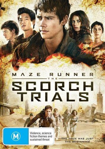 1 of 1 - MAZE RUNNER-THE SCORCH TRIALS DVD=DYLAN O'BRIEN=REGION 4 AUSTRALIAN=NEW & SEALED