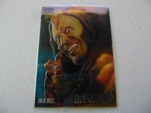 MARVEL FLEER ULTRA SPIDER MAN GOLDEN WEB CARNAGE 2 OF 9 HC2211