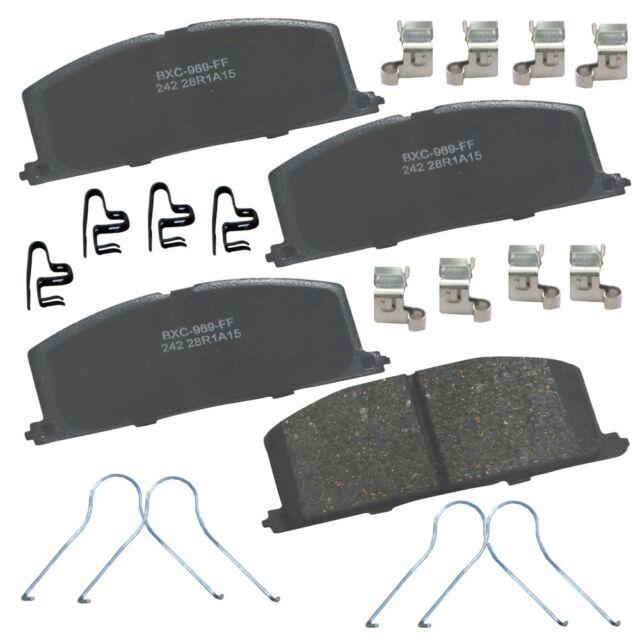 Disc Brake Pad Set-Stop Ceramic Brake Pad Front Bendix SBC1293