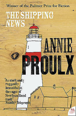 1 of 1 - The Shipping News by Annie Proulx Paperback Book New