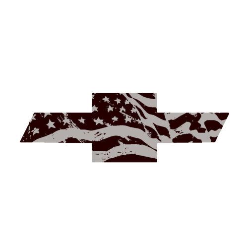 "Chevy Colorado emblem overlay 3M /""gel-coated/"" USA PRECUT /& DOMED 2015"