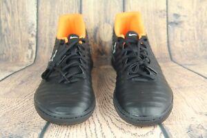 sneakers for cheap 73d7b 9b134 Nike TiempoX Legend VII Club IC Indoor Soccer Black AH7245-080 Mens ...
