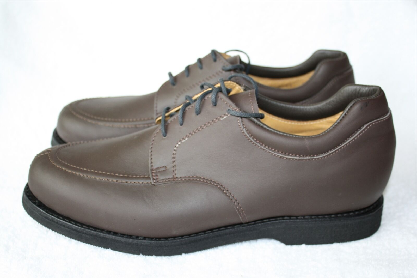 PW Minor Vibram Orthotic Oxford shoes Mens 11.5 C Narrow Algonquin Wide Depth