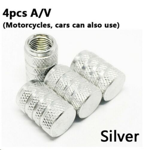 4Pcs Bike Wheel Tire Covered Car Motorcycle universal American AIR Valve Cap