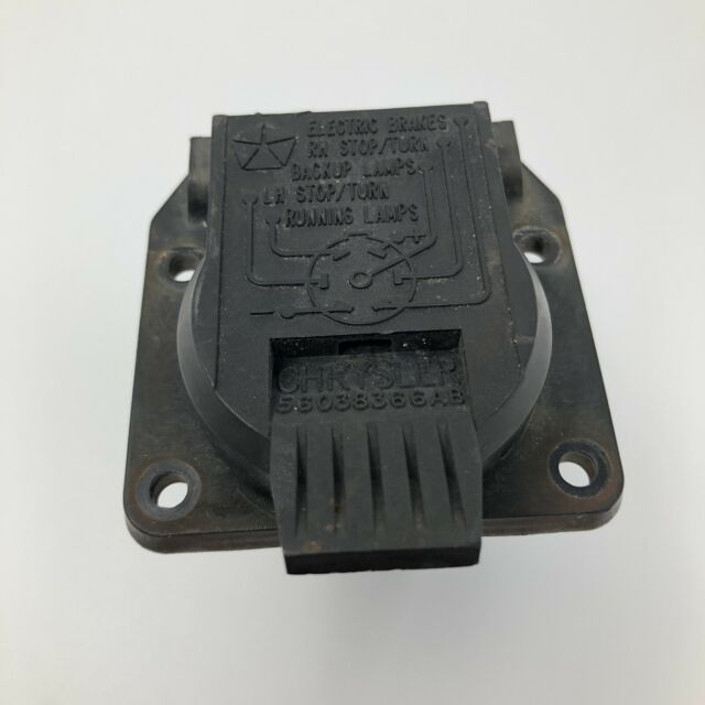 Nos Oem Genuine Mopar Trailer Wiring 7 Way Pin Connector