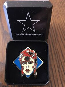 David-Bowie-034-Ziggy-034-Inspired-Tribute-Pin-Badge-in-Gift-Box