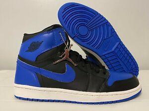 2001-Nike-Air-Jordan-1-Retro-High-OG-Royal-Blue-Black-136066-041-Size-10-5-NEW
