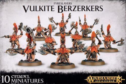 Games Workshop Warhammer Age of Sigmar Fyreslayers Vulkite Berzerkers SEALED