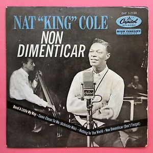 Nat-King-Cole-non-dimenticar-Bend-a-Little-My-way-4-track-ep-eap1-1138-EX