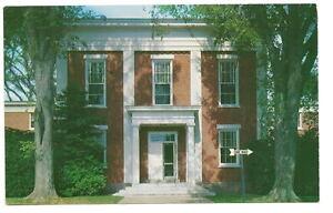 EDGARTOWN MA Dukes County Courthouse Vtg Postcard