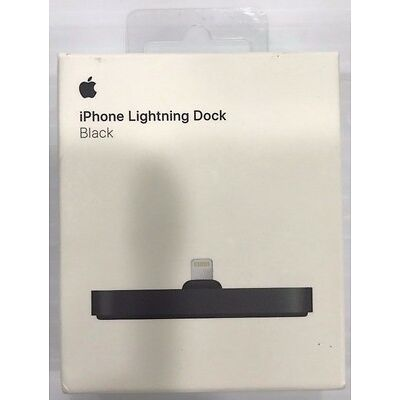New Apple Original iPhone Lightning Dock - Black