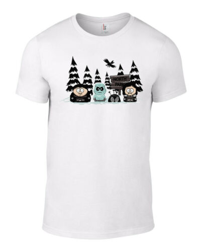 Orange T-shirt South Park Game Thrones Secret Santa Parody Xmas Gift Men Funny