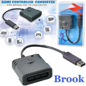 1a8b3d100ff Brook PS2 to PS3/PS4/PC Game Controller Super Converter Gamepad USB ...