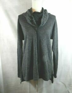 Simply-Vera-Vera-Wang-Pull-Over-Tunic-with-Hoodie-Style-Neckline-Sz-M-New