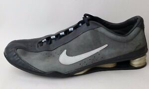 1cd84a2f100 Nike Shox Rival Dark Gray Leather 312563-041 Women Shoes 6.5 M ...
