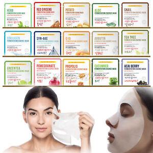 14pcs-Korean-Facial-Skin-Care-Mask-Sheet-Moisture-Essence-Face-Pack