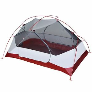 Image is loading 2-Person-Backpacking-Tent-Ultralight-Lightweight-C&ing -Waterproof-  sc 1 st  eBay & 2 Person Backpacking Tent Ultralight Lightweight Camping ...