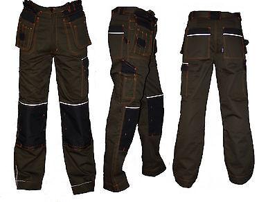 Arbeitshose CXS Bundhose Arbeitskleidung Braun Schwarz Handwerker TOP Gr 44-64