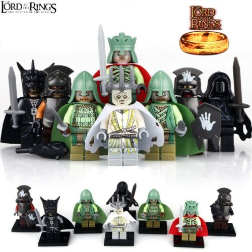 The Hobbit Lego Moc Minifigure Gift For Kids 8Pcs The Lord of the Rings