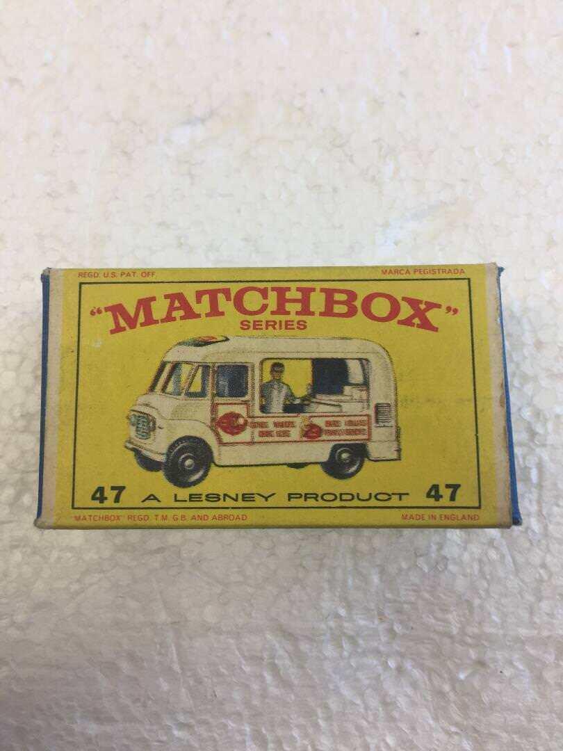 Matchbox Matchbox Matchbox No.47 Lord Neilson Tienda de Helados e85186