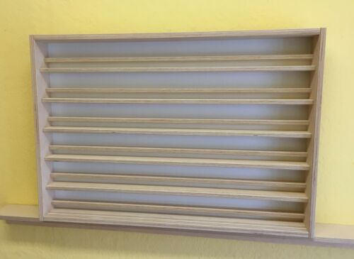 Sammler Vitrine Spur N 12 Stellebenen 70cm breit Treppensystem VitrinenSchmidt®