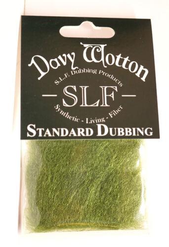 SLF Dubbing Original Davy Wotton Standard Dubbing SLF09 OLIVE DUN