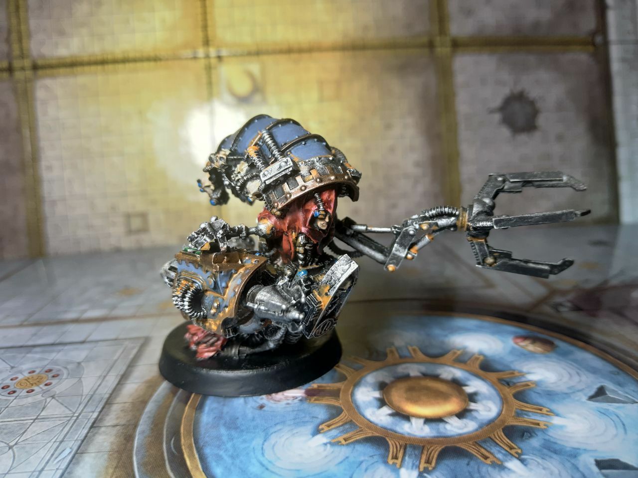 Magos Dominus con Rad-Limpiador Pintado Raro Mechanicum Warhammer 40k