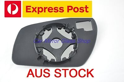 RIGHT DRIVER SIDE FORD FIESTA 2004-2008 MIRROR GLASS WITH HEATER  BACK PLATE