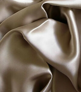 New-Luxurious-100-silk-charmeuse-Fitted-Bottom-sheets-Full-size-Champagne