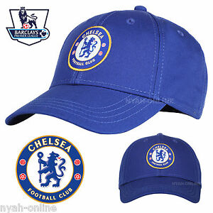 NEW CHELSEA FC BASEBALL CAP OFFICIAL BLUE PLAIN LOGO SNAPBACK FITTED ... 0933b9016fc