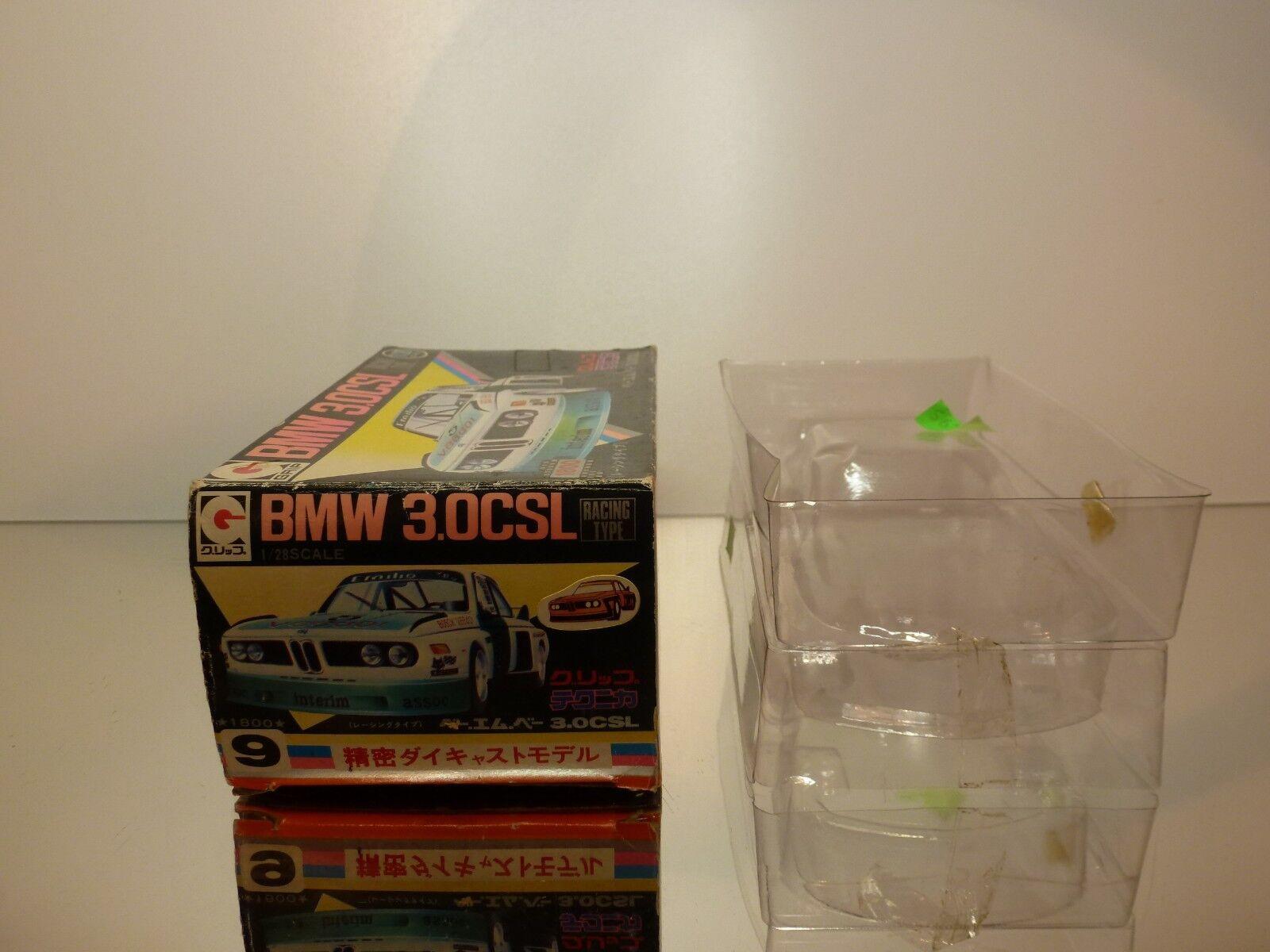 EIDAI GRIP 9 BOX BOX BOX for BMW 3.0 CSL - 1 28 RARE - ONLY BOX IN GOOD CONDITION 6fe7a8