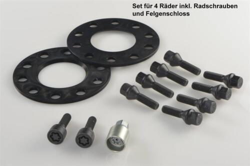 pista placas tipo 3t H /& r Abe ensanchamiento negro 10//30 mm set skoda superb