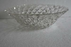 A LOVELY SMALL PRESSED CLEAR GLASS FRUIT BOWL - Hockley, Essex, United Kingdom - A LOVELY SMALL PRESSED CLEAR GLASS FRUIT BOWL - Hockley, Essex, United Kingdom