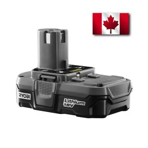 NEW Ryobi P102 18 Volt One Lithium Ion Compact 1.5 Amp Battery