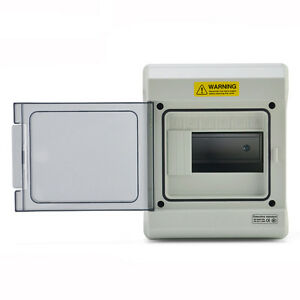 6 Way Ip65 Waterproof Electrical Distribution Enclosure Outdoor