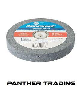Silverline-Heavy-Duty-Grinding-Wheel-Bench-Grinder-Fine-Coarse-Grit-150-x-20mm
