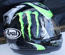 Arai Corsair V Monster Crutchlow motorcycle helmet SMALL UK Flag RX-7 GP Small
