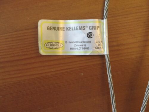 """HUBBELL KELLEMS GRIP CABLE SUPPORT .630/"""" .740/""""    02203014  new old stock"""