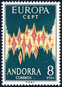 ANDORRA-span-1972-MiNr-71-Europa-CEPT-tadellos-postfrisch-Mi-60