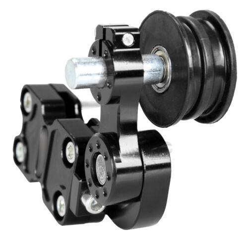 Universal Aluminium Kettenspanner Roller Chain Tensioner Für Motorrad Roller ATV