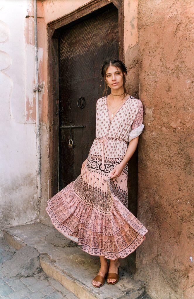 Spell & & & The Gypsy Free People Lionheart Boho Maxi Dress S NWT 6e22a0