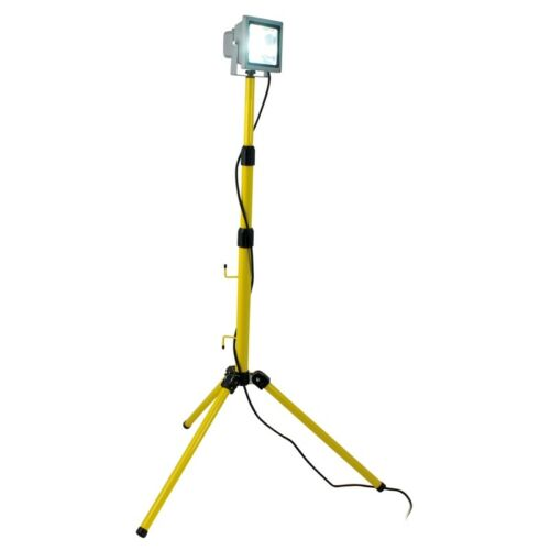 20 W Power DEL Lampe//avec trépied 230 V ip65 de extérieur Construction-Lampe