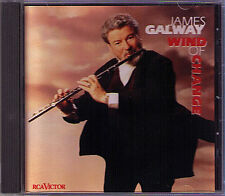 James GALWAY: WIND OF CHANGE A Whole New World I Will Always Love You Tu RCA CD