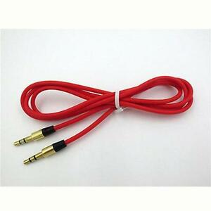 Details about RED 3.5MM AUX STEREO AUDIO JACK CABLE CORD WIRE FOR  on usb plug wiring, rca plug wiring, power plug wiring, rj45 plug wiring,